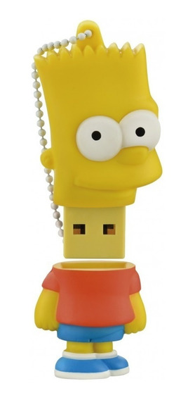Pendrive Simpsons Bart 8gb Multilaser Pd071 Usb 2.0 Original