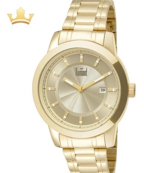 Relógio Dumont Masculino Du2315ba/4d Com Nf