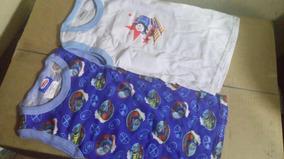 2 Camisetas Para Niño De Thomas,jake Y Mickey Talla-3 Disney