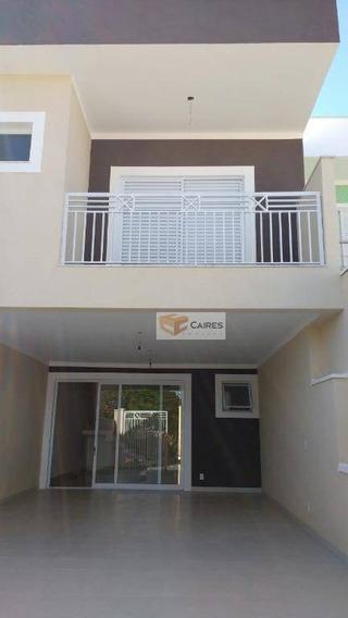 Casa Com 3 Dormitórios À Venda, 200 M² Por R$ 485.000,00 - Parque Jambeiro - Campinas/sp - Ca2831
