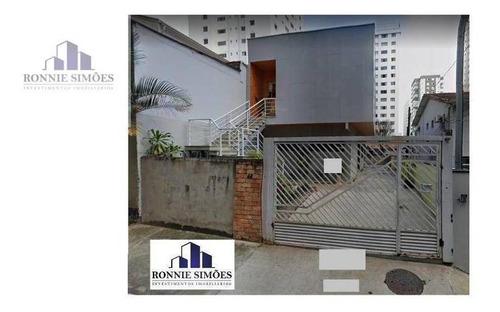 Imagem 1 de 29 de Sobrado Moderno Em Steel Frame À Venda Em Moema, 3 Dormitórios Sendo 1 Suíte, Sala Para 2 Ambientes, 3 Banheiros, 7 Vagas, Salão, 320 M², São Paulo. - So0325