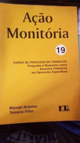 Acao Monitoria - 19 - Curso Processo Trabalho