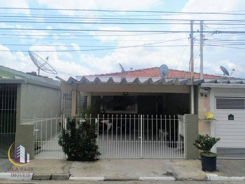 Casa Térrea No Jd D Abril - Osasco - Sp - Ca0437