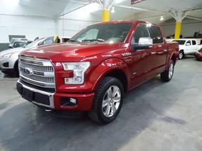 Ford Lobo Platinum 4x4 Rojo 2015