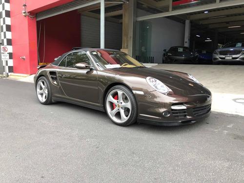 Imagen 1 de 9 de Porsche 911 2008 3.8 Turbo Cabriolet 4x4 At