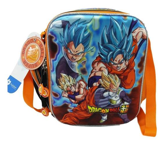 Lonchera 3d Dragon Ball Super Goku Vegeta La Batalla Inicia