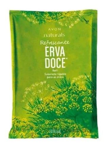 Sabonete Líquido Naturals Refil Erva Doce 250ml - Avon