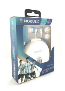 Auriculares In Ear Microfono Inc C/m. Libres Noblex Hpi04afa