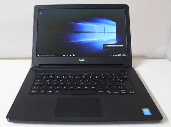 Notebook Dell Inspiron 5458 I3 1.7ghz 4gb Hd-500gb