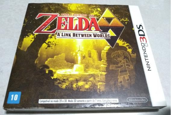 Zelda Link Between Worlds Americano Lacrado C/ Luva 3ds Leia
