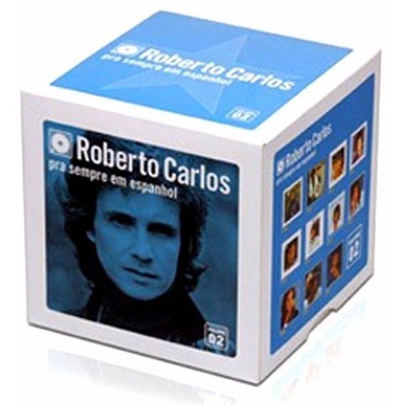 Box Roberto Carlos Pra Sempre (em Espanhol) 11 Cd´s Lacrado