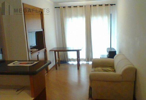 00547 - Flat 1 Dorm, Brooklin Novo - São Paulo/sp - 547