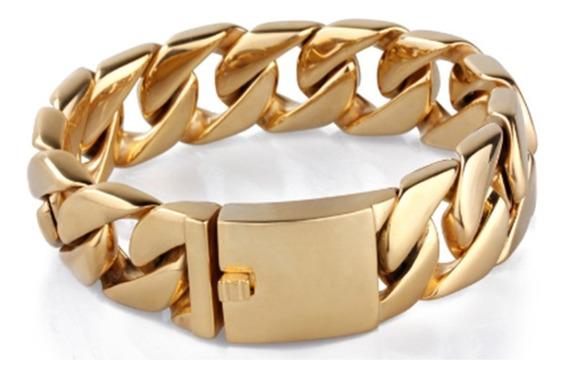Pulseira Em Aço Cirúrgico / Bracelete Para Homens