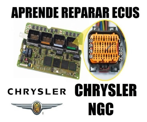 Superpromo  Curso Computadora Automotriz Chrysler Ngc Ecus