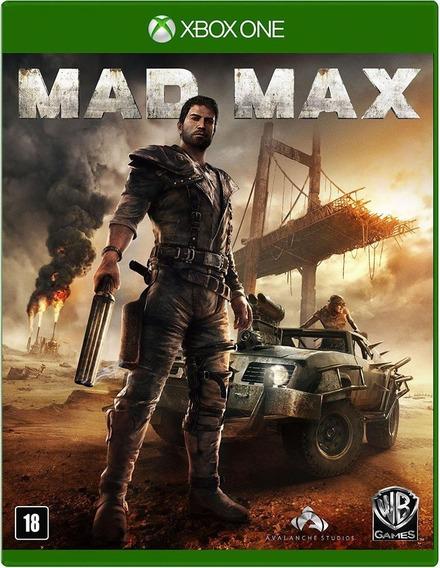 Mad Max Xbox One - Mídia Física Lacrado