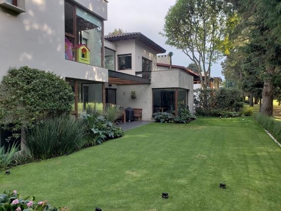Moderna Casa En Club De Golf Los Encinos