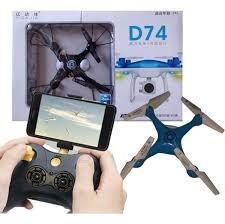 Mini Drone Con Cámara Y Control Remoto 2.4ghz