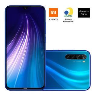 Redmi Note 8 64gb Azul Versão Global Pronta Entrega Novo