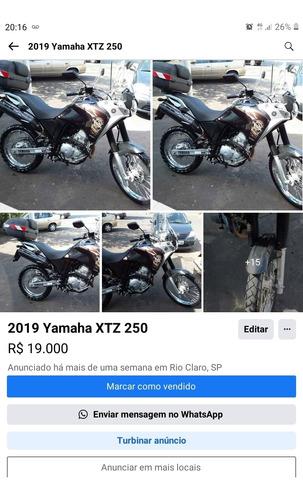 Imagem 1 de 1 de Yamaha Xtz250z Tenere