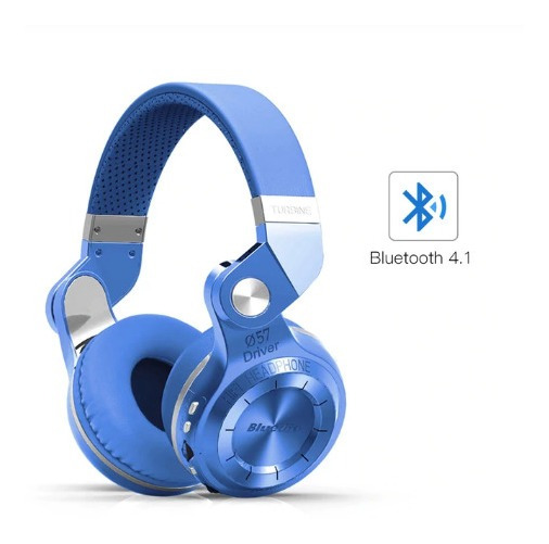 Fone Bluedio T2 S Turbine Fm Bluetooth Sem Fio 4.1