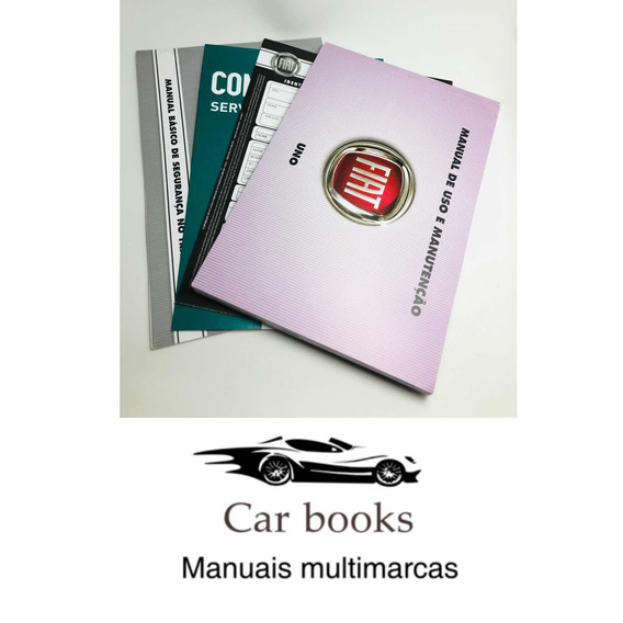 Manual Fiat / Uno 2017 12x S/ Juros Frete Grátis
