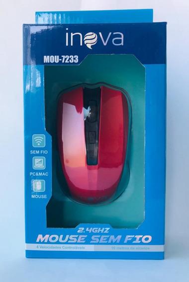 5 Mouse Inova Sem Fio 2.4ghz Wireles Atacado