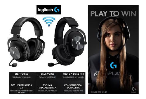 Audifonos Gamer Logitech G Pro X Wireless 7.1 Lightspeed 15h