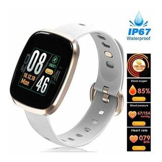 Synmila Lady Fitness Watch, Waterproof Women Smart Watch