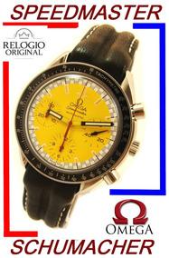 Omega Speedmaster Schumacher Amarelo / Legendário !