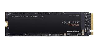 Disco Ssd Wd Black Sn750 M2 Nvme 500 Gb