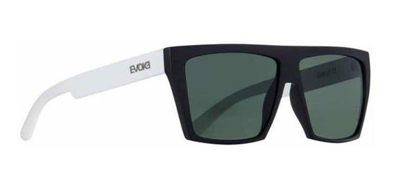 Óculos De Sol Evoke Evk 15 Black Temple White G15