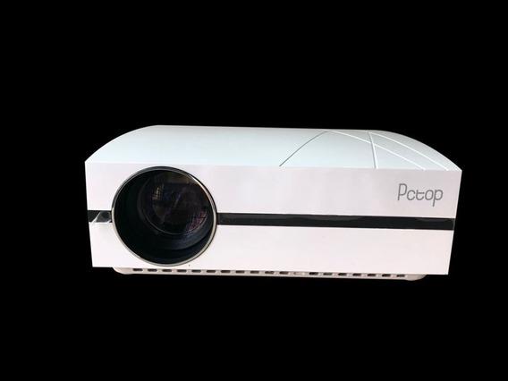 Projetor Pctop F20 4000 Lumens Wxga Hdmi 2xusb Br