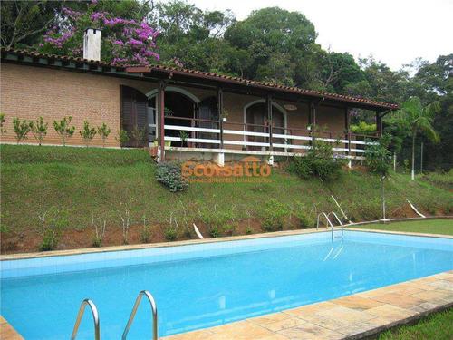 Chácara Com 4 Dorms, Itaquaciara, Itapecerica Da Serra - R$ 800 Mil, Cod: 1679 - V1679