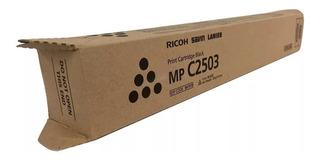 Toner Original Ricoh Aficio Mp C2503 C2503 Negro