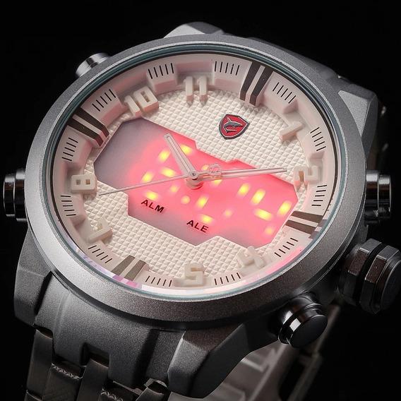 Relógio Shark Sawback Masculino Esportivo Digital Original