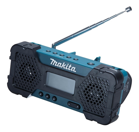 Rádio Am/fm Entrada Aux Sem Bateria 12v Mr052 Makita