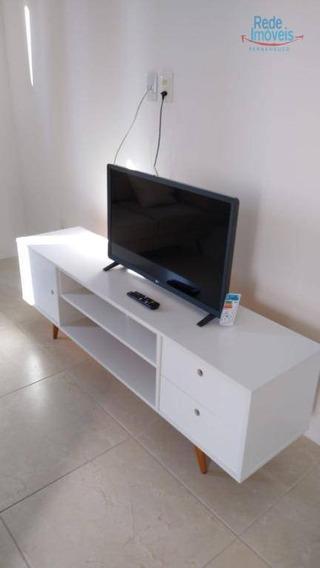 Apartamento Com 1 Dormitório Para Alugar, 29 M² Por R$ 1.600,00/mês - Boa Viagem - Recife/pe - Ap10076