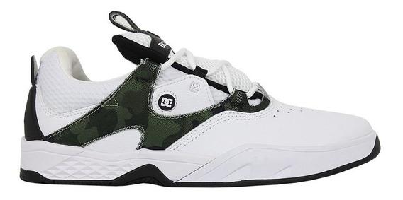 Tênis Dc Shoes Kalis Se White Camo