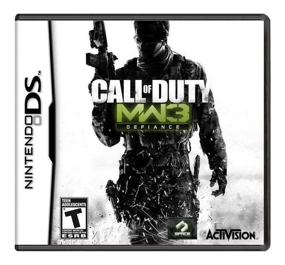 Call Of Duty Mw3 Ds (midia Fisica)