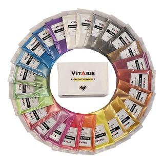 Vitarie Pigmentos 48 Colores 10 Gramos C/u