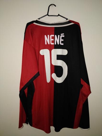 Camisa Do Hertha Berlim - 2001 - Nike - #15 Nené - De Jogo