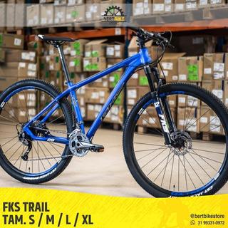 Mountain Bike Aro 29 Fks Trail - Shimano Alivio 27 Vel.