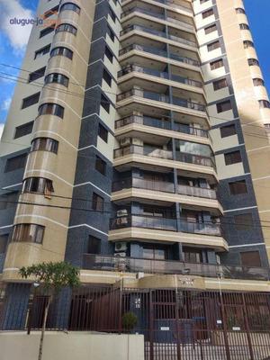 Apartamento Com 3 Dormitórios À Venda, 100 M² Por R$ 430.000 - Jardim Aquarius - São José Dos Campos/sp - Ap4869