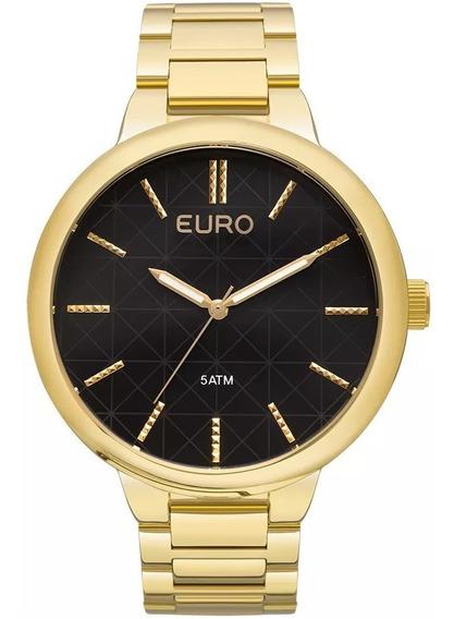 Relógio Euro Feminino Analógico Folheado Wr 50 Eu2036lyt/4f
