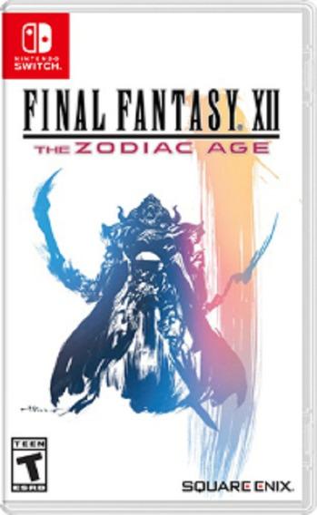Final Fantasy Xii The Zodiac Age Switch Mídia Física