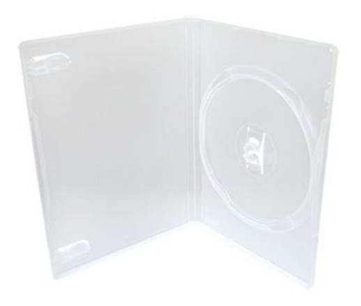 Estojo Box Dvd Transparente Original 100 Pçs