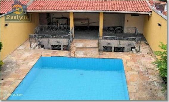 Sobrado Com 4 Dormitórios À Venda, 568 M² Por R$ 1.879.000,00 - Campestre - Santo André/sp - So0219