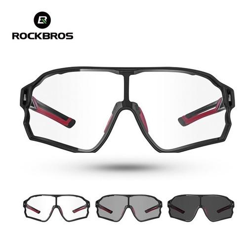 Imagem 1 de 4 de Óculos Sol Ciclismo Rockbros Original Uv400 Fotocromático Nf