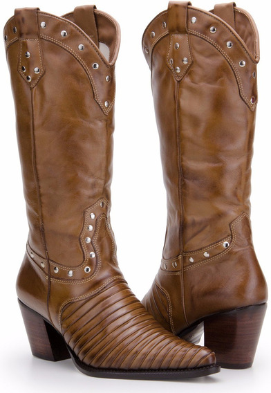 Bota Feminina Country Texana Rodeo Escama/tatu Capelli Boots