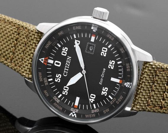 Reloj Citizen Eco-drive. Piloto Militar. De Aparador